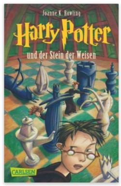 """""""Harry Potter und der Stein der Weisen"""" Joane K. Rowling"""