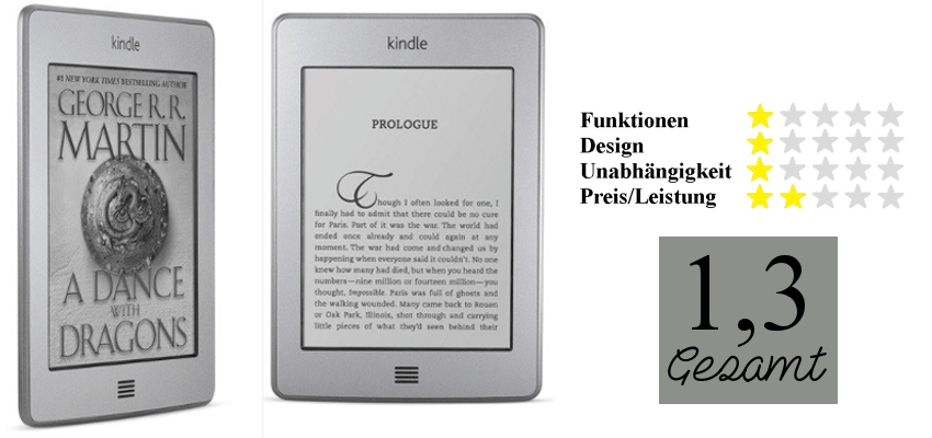 Bewertung Kindle Touch