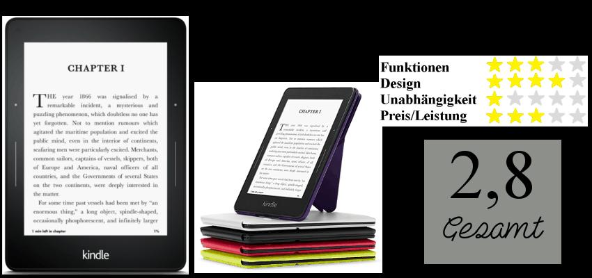 Bewertung Kindle Voyage
