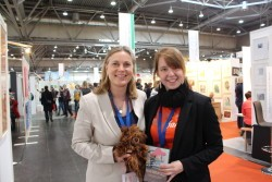 Sandy Seeber auf der Leipziger Buchmesse