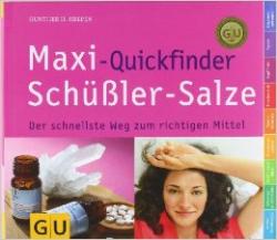 Maxi- Quickfinder Schüßler- Salze
